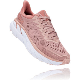 Hoka One One Clifton 7 Running Shoes Women misty rose/cameo brown